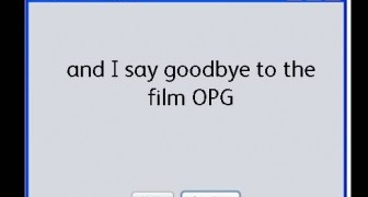 Film OPGs are History